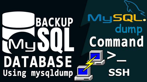 Backup và Restore MySQL Database bằng lệnh SSH